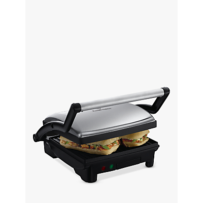 Russell Hobbs Cook at Home 3-in-1 Panini Maker, Grill and Griddle