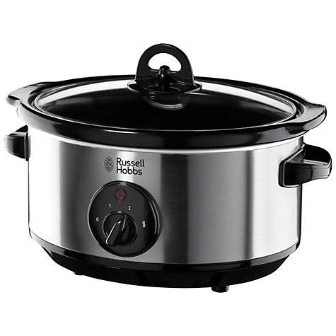 Buy Russell Hobbs 19790 Slow Cooker, Stainless Steel Online at johnlewis.com