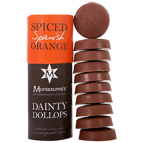 Buy Montezuma Milk Chocolate Dainty Orange Dollops, 180g Online at johnlewis.com