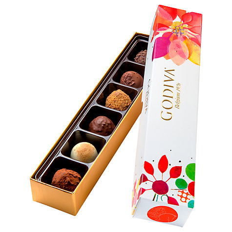 Buy Godiva Spring Truffle Box, 85g Online at johnlewis.com