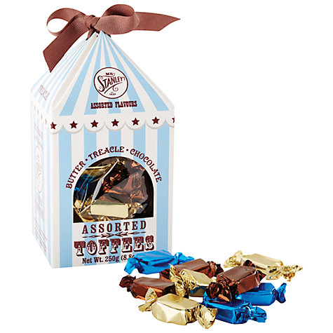 Buy Mr Stanley's Assorted Toffee Box, 250g Online at johnlewis.com
