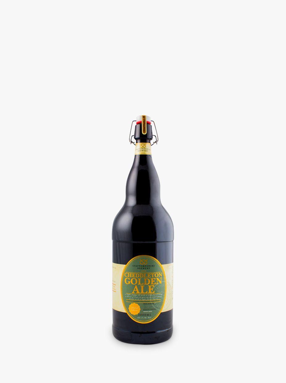 Staffordshire Brewery Staffordshire Brewery Cheddleton Golden Ale, 300cl