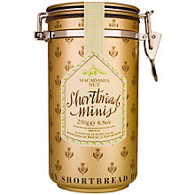 Buy Shortbread House Macadamia Shortbread Cannister, 250g Online at johnlewis.com