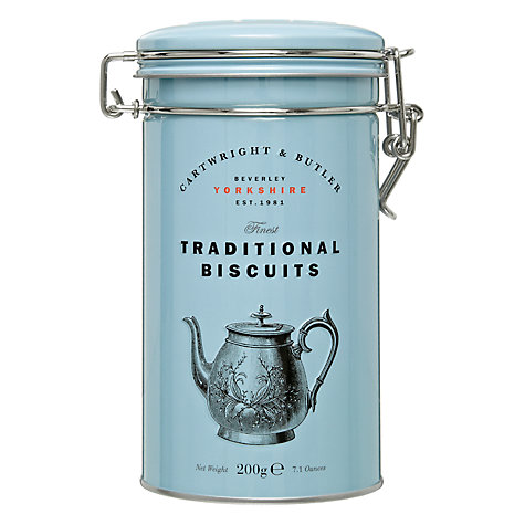 Buy Cartwright & Butler Chocolate Chunk Biscuits Cannister, 200g Online at johnlewis.com
