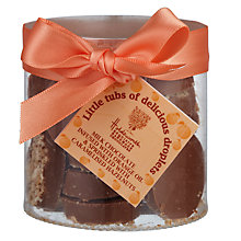 Buy Holdsworth Milk Chocolate Infused with Orange Droplets, 100g Online at johnlewis.com