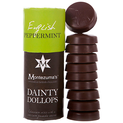 Buy Montezuma Dark Chocolate Dainty Peppermint Dollops, 180g Online at johnlewis.com