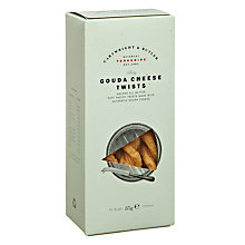 Buy Cartwright & Butler Gouda Cheese Twists, 85g Online at johnlewis.com