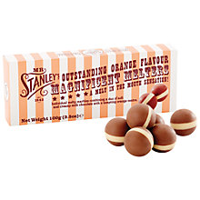 Buy Mr Stanley's Milk Chocolate Orange Melts, 100g Online at johnlewis.com