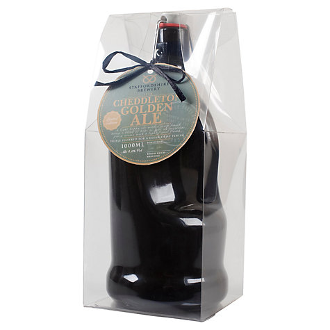 Buy Staffordshire Brewey Cheddleton Ale Flagon, 1l Online at johnlewis.com