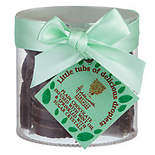 Buy Holdsworth Dark Chocolate Infused with Mint Droplets, 100g Online at johnlewis.com