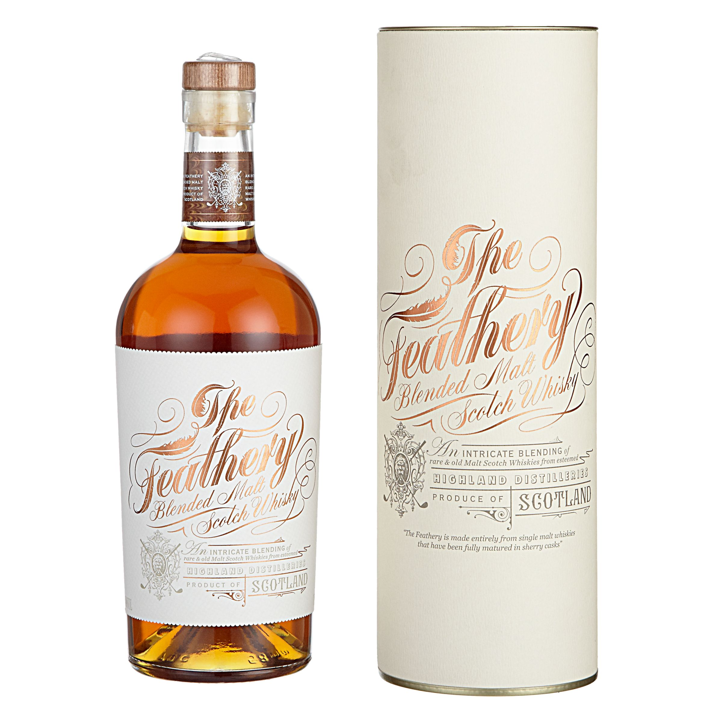 Edinburgh Gin Edinburgh Gin The Feathery Malt Scotch Whisky, 75cl