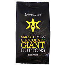 Buy Montezuma's Smooth Milk Chocolate Giant Buttons, 180g Online at johnlewis.com