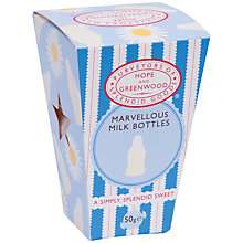 Buy Hope & Greenwood Marvellous Milk Bottles, 50g Online at johnlewis.com