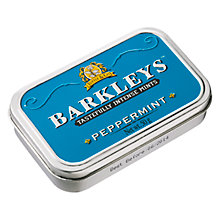 Buy Barkleys Peppermint Mint Tin, 50g Online at johnlewis.com