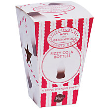 Buy Hope & Greenwood Fabulous Fizzy Cola Bottles Mini Box, 50g Online at johnlewis.com