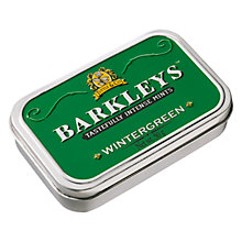 Buy Barkleys Wintergreen Mint Tin, 50g Online at johnlewis.com