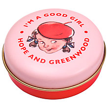 Buy Hope & Greenwood Good Girl Mint Tin, 30g Online at johnlewis.com