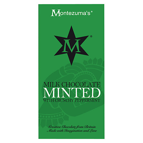 Buy Montezuma's Minted Milk Chocolate Bar, 100g Online at johnlewis.com