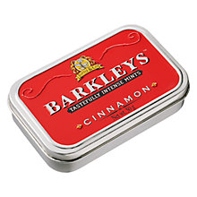 Buy Barkleys Cinnamon Mint Tin, 50g Online at johnlewis.com