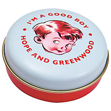 Buy Hope & Greenwood Good Boy Mint Tin, 30g Online at johnlewis.com
