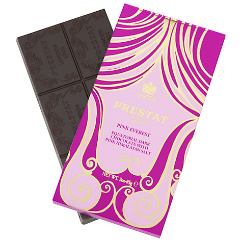 Buy Prestat Pink Everest Dark Chocolate Bar, 85g Online at johnlewis.com