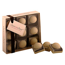Buy Choc on Choc 9 Block Golf Chocolate Box, 90g Online at johnlewis.com