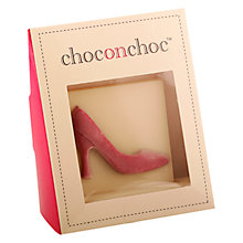 Buy Choc on Choc White Chocolate Shoe, 90g Online at johnlewis.com