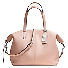 Buy Coach Bleecker Cooper Leather Satchel Handbag Online at johnlewis.com