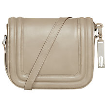 Buy Hobbs Bombe Mimi Leather Across Body Bag Online at johnlewis.com