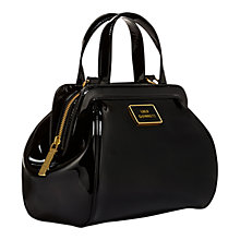 Buy Lulu Guinness Paula Across Body Bag, Black Online at johnlewis.com