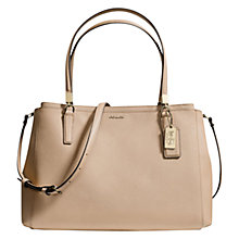 Buy Coach Madison Christy Leather Shoulder Handbag Online at johnlewis.com
