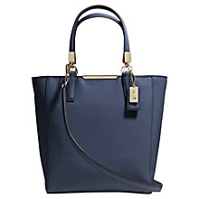 Buy Coach Madison Leather Mini Tote Handbag Online at johnlewis.com
