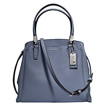 Buy Coach Madison Minetta Leather Shoulder Handbag Online at johnlewis.com
