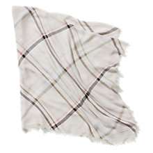 Buy Coach Tattersall Scarf Online at johnlewis.com