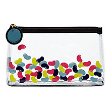 Buy Lulu Guinness Clear Jelly Beans Cosmetic Bag Online at johnlewis.com
