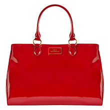 Buy Lulu Guinness Amelia Tote Bag, Red Online at johnlewis.com