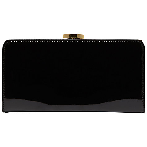 Buy Lulu Guinness Patent Leather Frame Purse Online at johnlewis.com