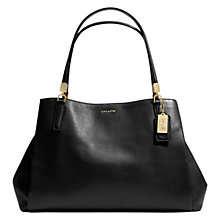 Buy Coach Madison Cafe Leather Tote Handbag Online at johnlewis.com
