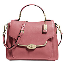 Buy Coach Madison Sadie Leather Satchel Bag Online at johnlewis.com