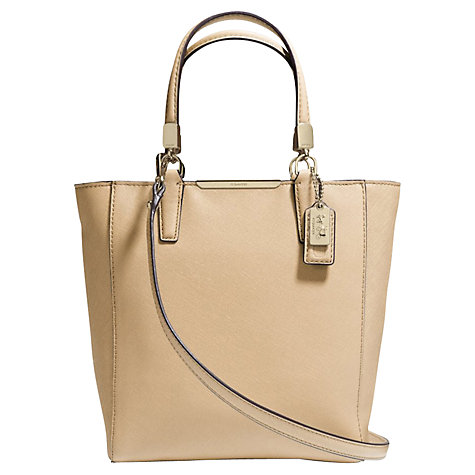 Buy Coach Madison Mini Leather Tote Bag Online at johnlewis.com