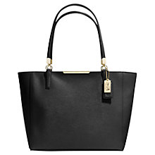 Buy Coach Saffiano Leather Medium Tote Handbag Online at johnlewis.com