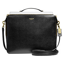 Buy Coach Madison Saffiano Leather Across Body Handbag Online at johnlewis.com