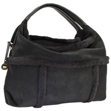 Buy UGG Quinn Sheepskin Suede Hobo Bag Online at johnlewis.com