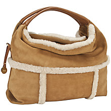 Buy UGG Quinn Sheepskin Suede Hobo Handbag Online at johnlewis.com