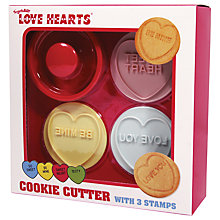 Buy Love Heart Cookie Cutter Set Online at johnlewis.com