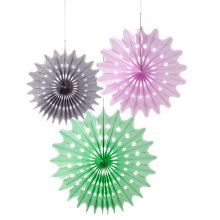 Buy Talking Tables Macaroon Fan Balls, Pack of 3 Online at johnlewis.com