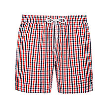 Buy Gant Gingham Check Swim Shorts Online at johnlewis.com