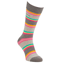 Buy Gant Melange Stripe Socks, One Size Online at johnlewis.com