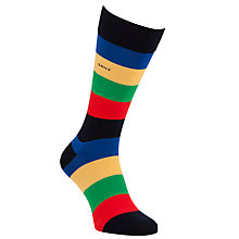 Buy Gant Block Stripe Socks, Multi Online at johnlewis.com