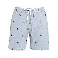 Buy Hartford Hawaii Swim Shorts, Navy Online at johnlewis.com